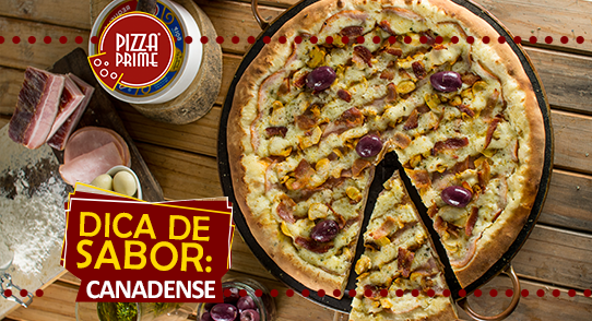 Pizza Canadense - Pizza Prime