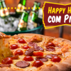 Happy Hour Com Pizza - Pizza Prime